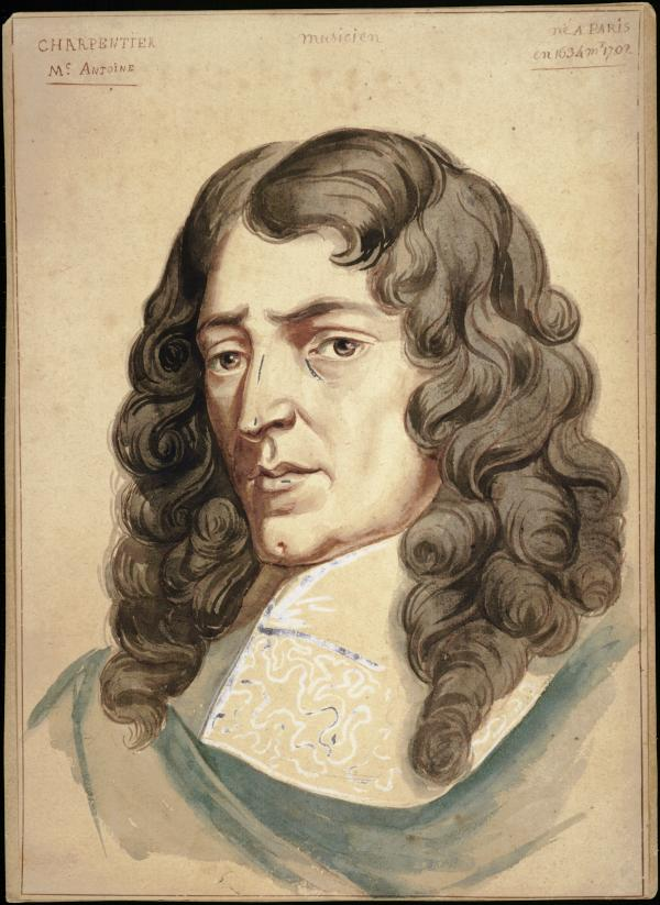 "The ""new"" portrait of Marc-Antoine Charpentier"