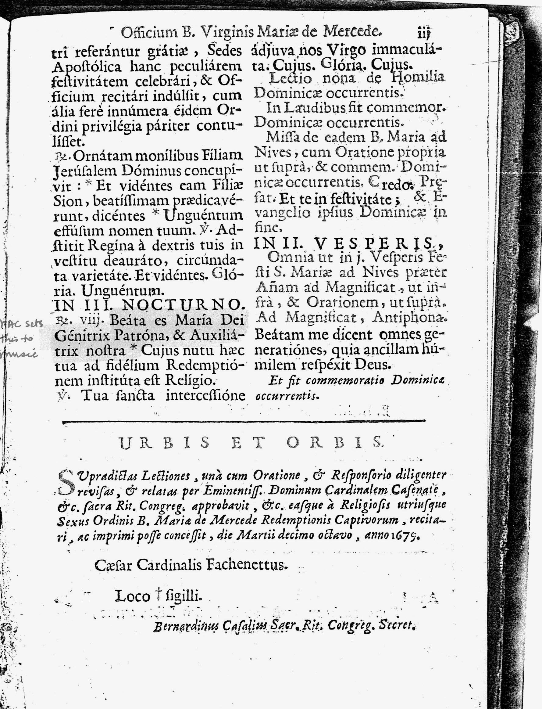 page 3: in grey, text set by Charpentier